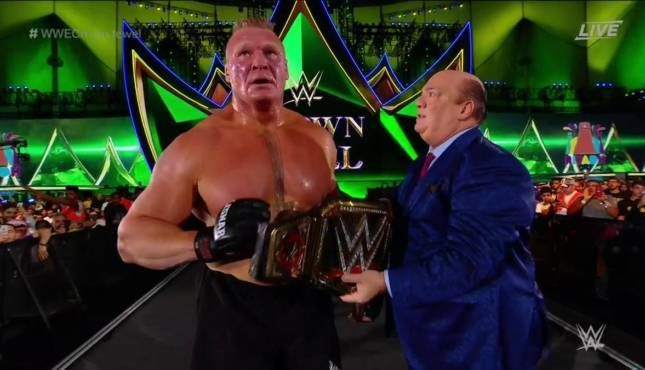Brock Lesnar is heading to Raw!
