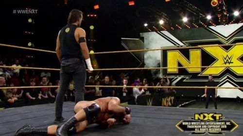 Adam Cole and Finn Balor stood tall at the end of NXT