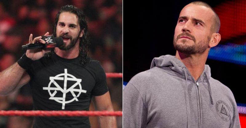 Seth Rollins and CM Punk
