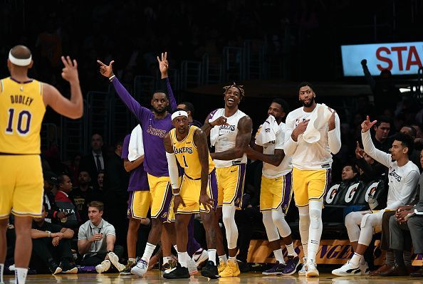 The Los Angeles Lakers have been among the NBA