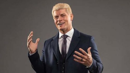 Cody challenges for the AEW World Title at Full Gear