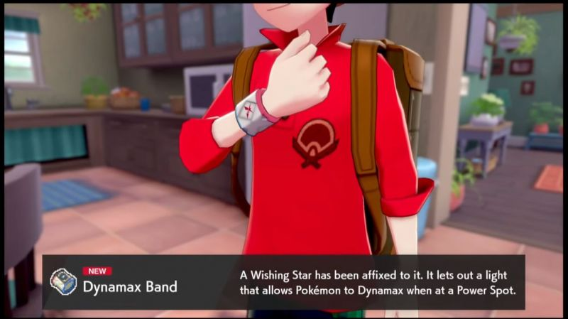 Dynamax your Pokemon with a Dynamax Band