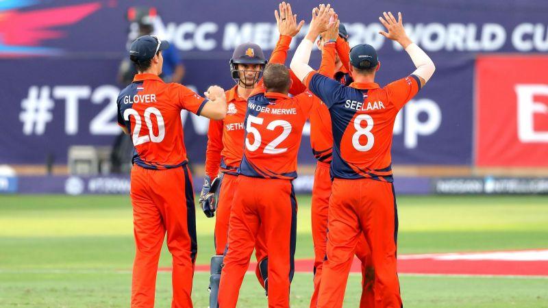 नीदरलैंड्स ने आयरलैंड को चौंकाया (Photo: ICC)