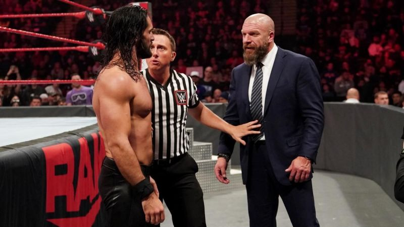 Seth Rollins and Triple H