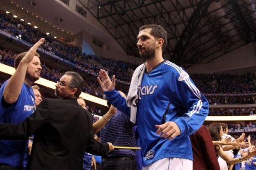 Stojakovic won the the NBA title with the Dallas Mavericks.
