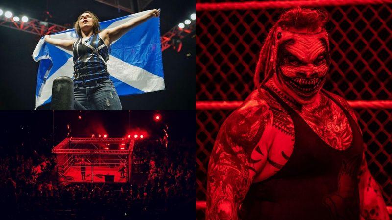 WWE Glasgow was certainly eventful!