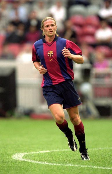Emmanuel Petit was one of the few Arsenal players who failed to make a mark at Barcelona after their switch