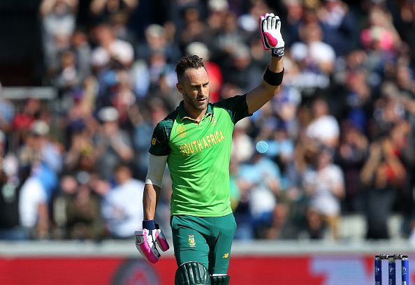 Faf du Plessis will look to inspire the South African team in 2020.