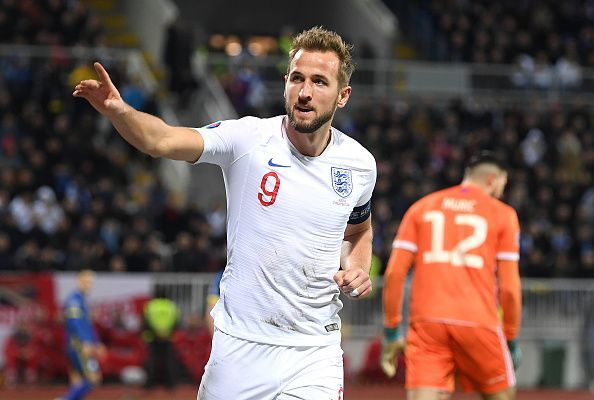 Harry Kane was the top scorer in Euro 2020 Qualifying with 12 goals