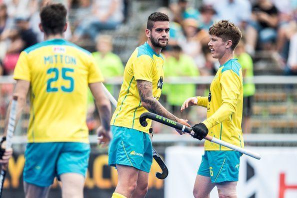 Germany v Australia - Men