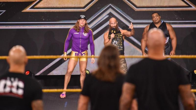 Tommaso Ciampa, Matt Riddle, and Keith Lee will all be going to war with Undisputed Era.