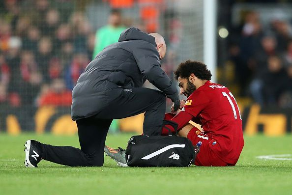 Mohamed Salah could be rested against Genk due to the ongoing injury issue.