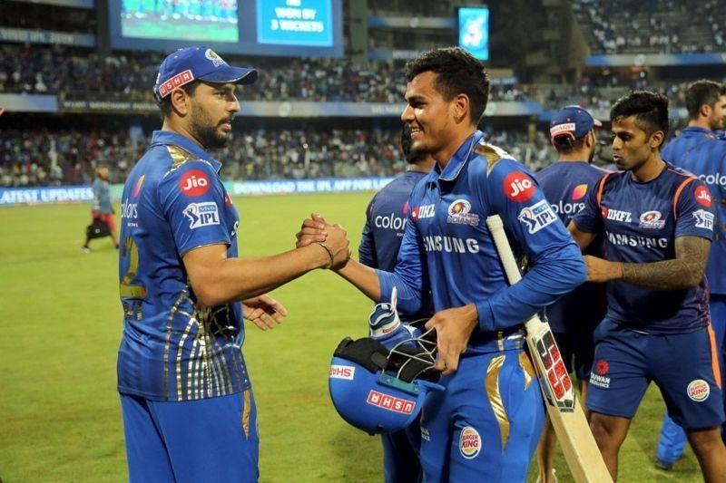 Yuvraj Singh played for Mumbai Indians in IPL 2019.
