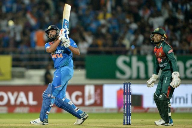 Rohit Sharma launches a colossal maximum.