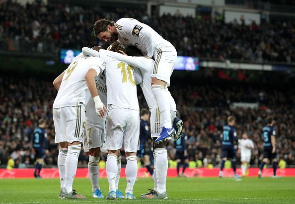 The Galacticos have the chance to confirm their qualification with a win against the French giants.