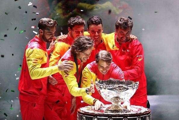 Team Spain bag their 6th Davis Cup title