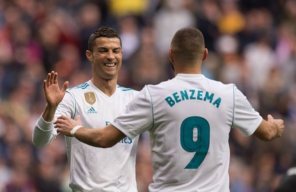Ronaldo and Benzema for Real Madrid