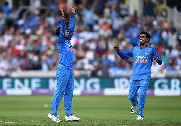 Yuzvendra Chahal could have had more wickets during his splendid spell