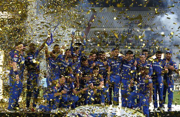 Mumbai Indians are the defending champions