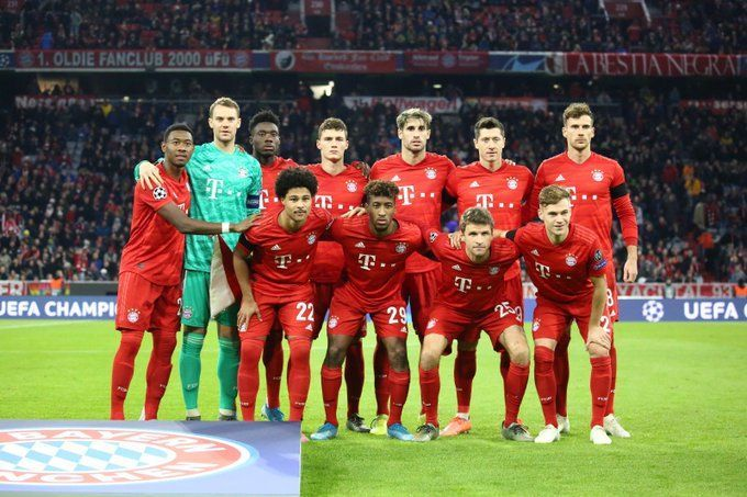 Bayern were unable to break down the hosts in the first half