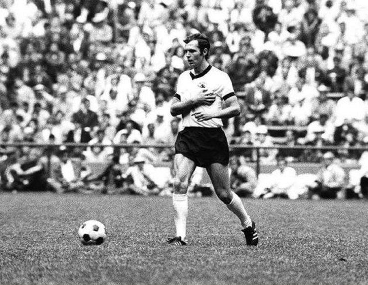 Beckenbauer was arguably the greatest captain of all time