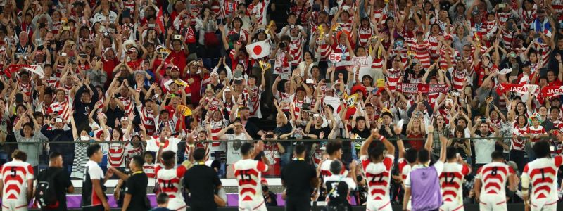 The success of Rugby World Cup can be seen in the financial reports as well as stadium attendances