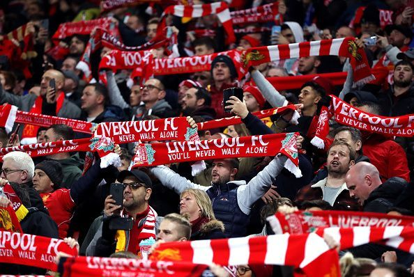 Anfield is expected to be in full voice this Sunday.