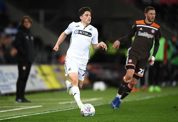 James made his breakthrough at Swansea City in 2018/19