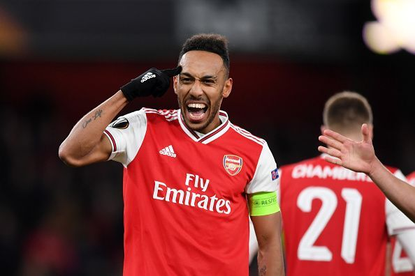 Captain Aubameyang will have to step up if Arsenal are to stop their losing run