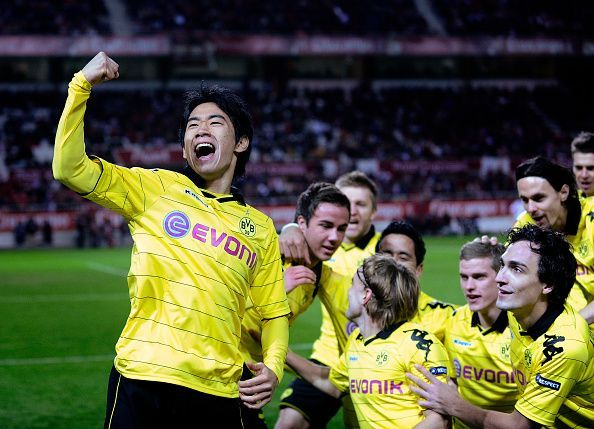 Shinji Kagawa was a dream to watch in his first spell at Dortmund