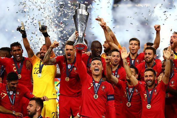 Ronaldo has captained Portugal to two major titles