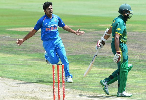 Shardul Thakur bowls at a brisk pace and has excellent control too