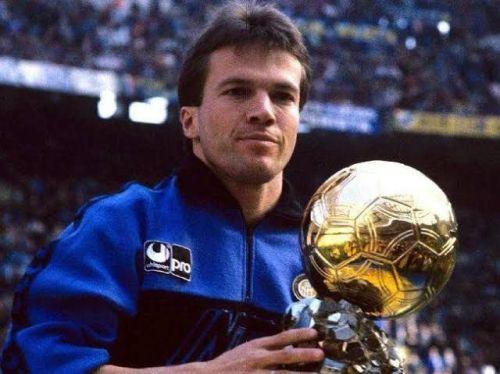 Lothar Matthaus won the Ballon d'Or in 1990