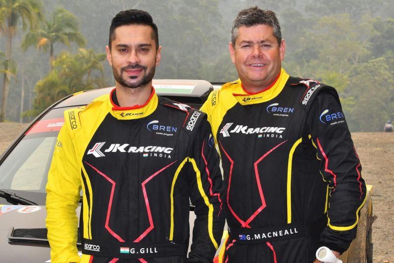 Gaurav Gill (L) and Macneall Glenn