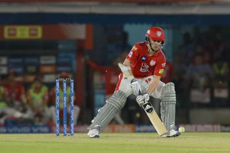 Curran can strike the ball pretty well. (Image Courtesy: IPLT20.com)