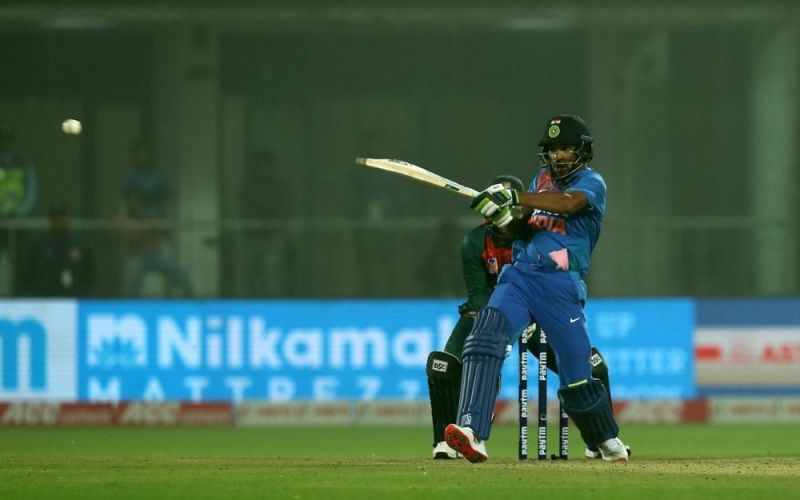 Shikhar Dhawan was well set before he was run out