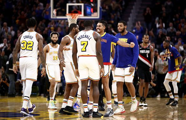 Golden State will travel to Minnesota to take on the Timberwolves