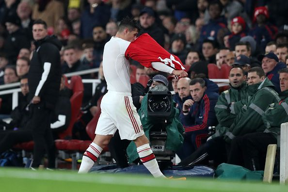 Granit Xhaka looks set to leave in January