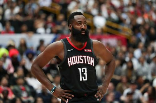 James Harden is averaging a career-high in points but his field goal percentage is down