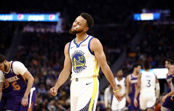 Steph Curry is set for a lengthy absence