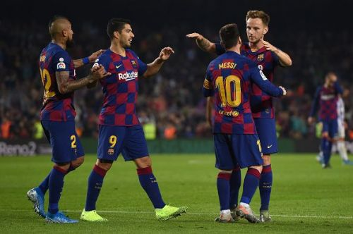 FC Barcelona v Real Valladolid CF - La Liga