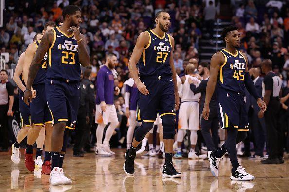 The Utah Jazz host the high-flying Philadelphia 76ers