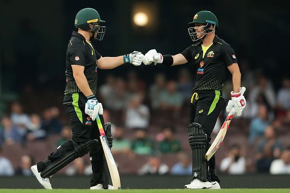 Australia and Pakistan were forced to share the spoils