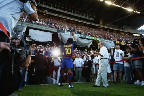 Ronaldinho mesmerised stadiums whenever he played