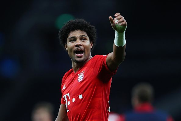 Gnabry was on target for Bayern once again