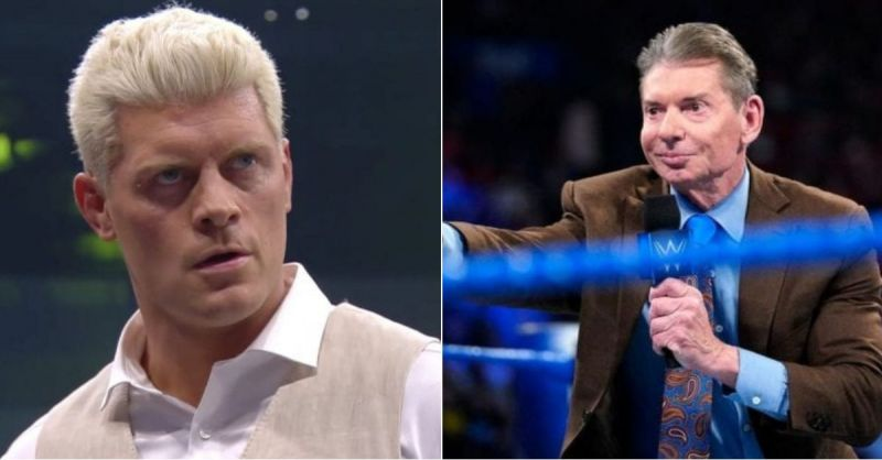 Cody Rhodes and Vince McMahon