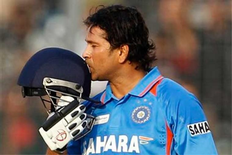 Tendulkar is hailed as one of the greatest batsmen in the history of the game.