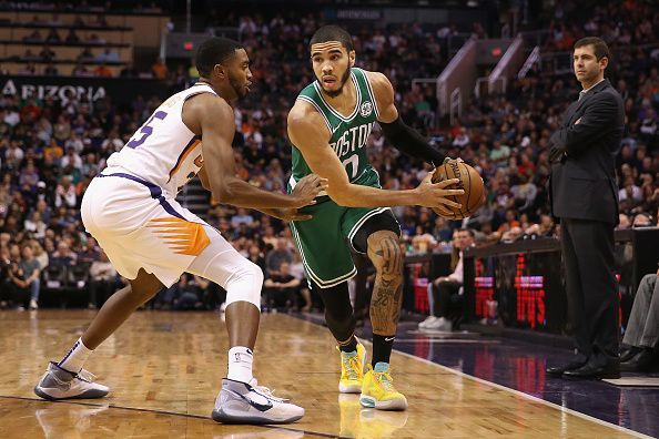 Jayson Tatum is playing some of the basketball of his career