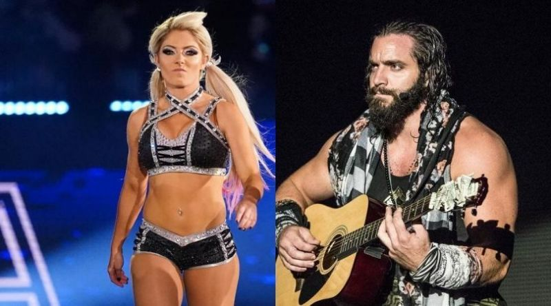 Alexa Bliss and Elias