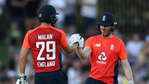 Dawid Malan praised Eoin Morgan for helping him score a record-breaking ton for England